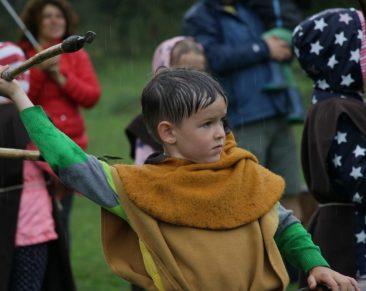 Gimtadienis Vikingų kaime