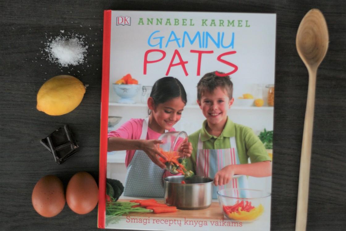 Vaikiški receptai knyga