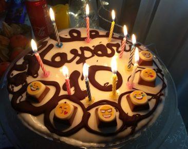 Dešimties metų berniuko gimtadienis