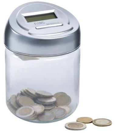 Euro monetų taupyklė