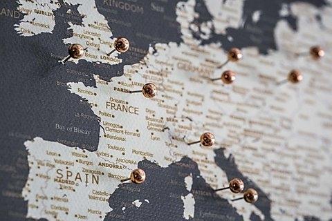 Kelionių žemėlapis